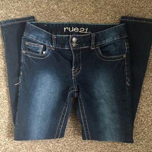 Rue 21 Mid-Rise Skinny Short Jeans Size 3/4 EUC
